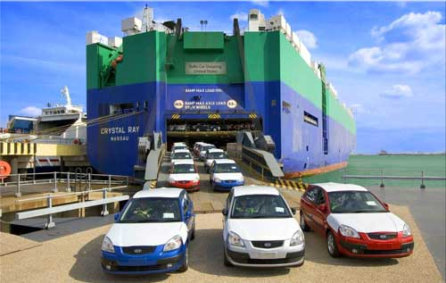 Car shipping by RORO