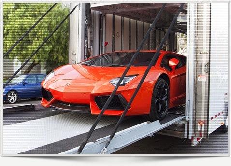 Overseas car transportation